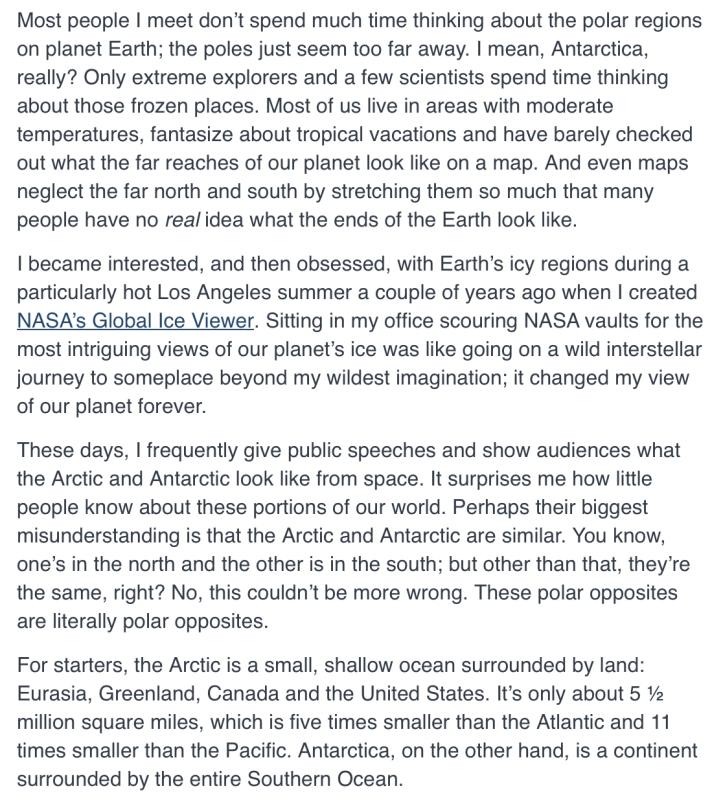 arctic:antarctic