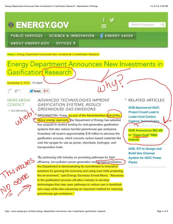 Energy Department Announces New Investments in Gasification Research | Department of Energy-JPEG_Page_1
