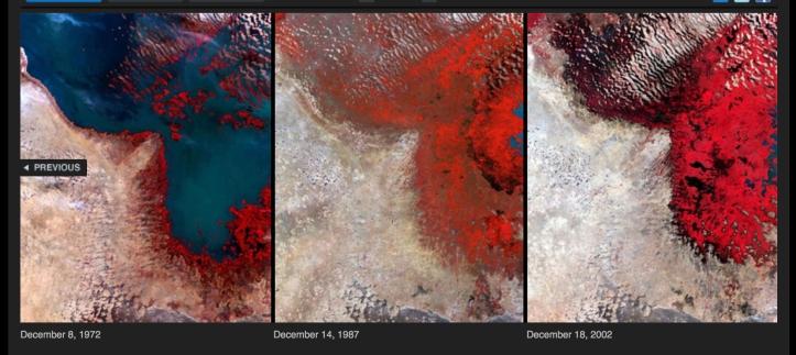 Lake Chad, Africa 1972-2002