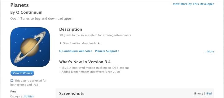 Planets-app