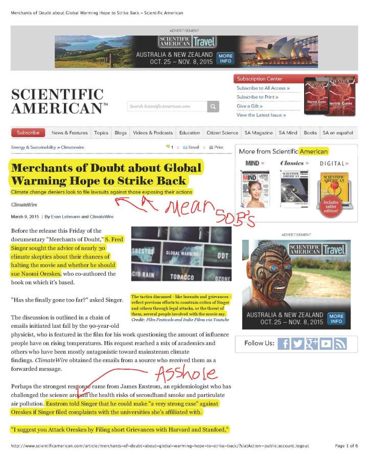 Merchants of Doubt about Global Warming Hope to Strike Back - Scientific American_Page_1