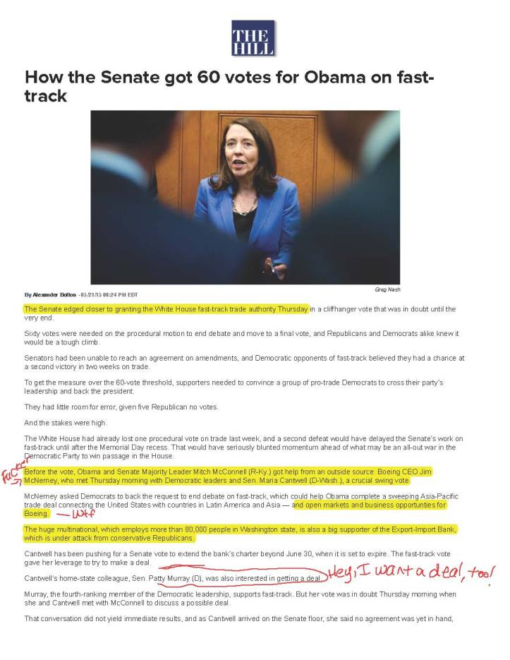 How the Senate got 60 votes for Obama on fast-track | TheHill_Page_1