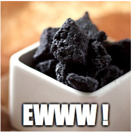 coal cookie