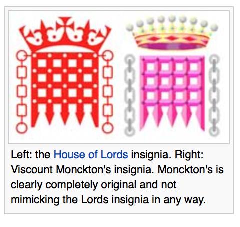 monckton insignia