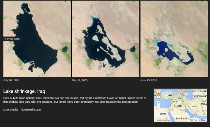 Iraq lakes