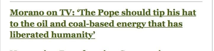pope coal
