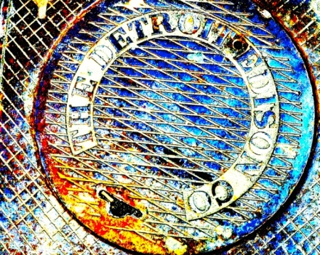 detroit-edison-manhole-cover-michigan-canvas