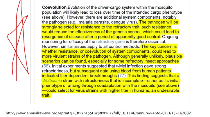 Oxitec Coevolution