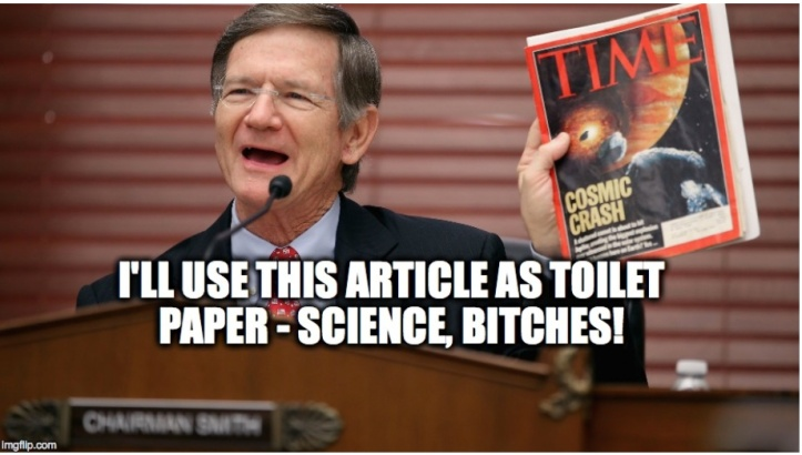 lamar smith science