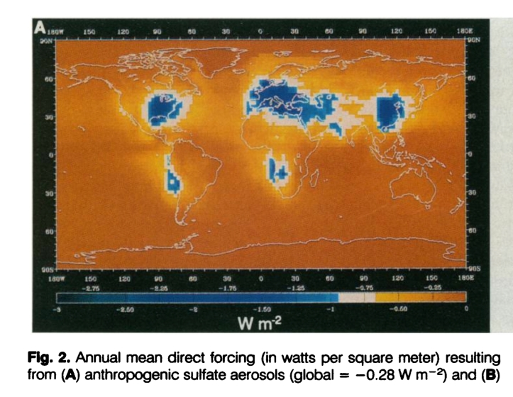 1993 map aerosols